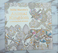 English Children Secret Garden Animal Kingdom Treasure Hunt Coloring Book#-33