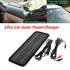 Portable 12V 4.5W Car Solar Panel Battery Maintainer Charger Auto Outdoor Backup