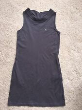 Womens Lacoste Izod Gray Scoop Neck Sleeveless Tank Knit Dress M L size  44