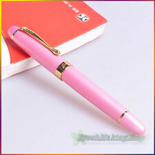 Jinhao x450 roller ball pen Fashion Lady Pink Golden pen clip new free shipping