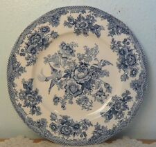 """Johnson Brothers China Asiatic Pheasant Blue 10"""" Dinner Plate"""