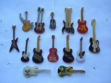 SALE RARE VINTAGE GUITAR FENDER GIBSON ROCK MUSIC AMP PIN BADGE JOB LOT BUNDLE