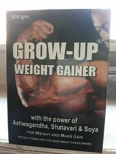 BODY GROW UP WEIGHT GAINER-With The Power Of Ashwagandha, Satavari & Soya- 500GM