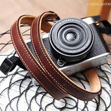 CIESTA Schulter Hals Leder Kamera Gurt L15 [Giano Braun] f/ D-SLR RF Mirrorless