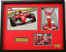 New Michael Schumacher Signed Limited Edition Memorabilia Framed