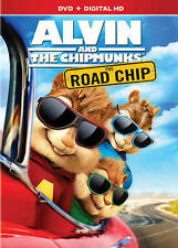 Alvin and the Chipmunks: The Road Chip DVD, 2016 NEW