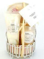 ENCHANTED Garden Daisy White Orchid mano Caddy Set Regalo-Nuovo
