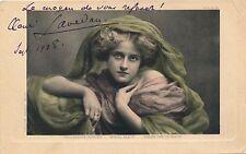 Ecrivain Henri Lavedan carte postale dedicace signée autographe 1908