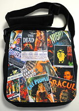 Goth Horror Punk Retro B Movie Posters Ladies Small Shoulder Bag