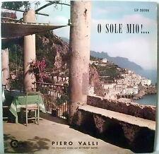VALLI PIERO O SOLE MARECHIARE MARIA MARI' MIO LP 1966 FOLK ITALY