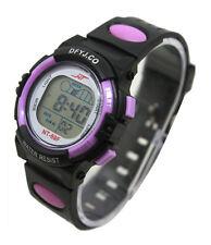 Niña Chico Sport Watch Alarma Fecha Digital Infantil LED Reloj Multifunción