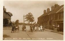 Borough Beck Road Melton Constable Nr Briston Saxthorpe Holt RP pc used 1918