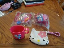 Hello kitty lot of 4 Includes 2 NEW McDonalds collectibles