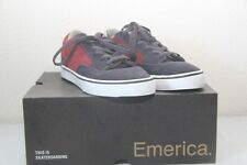 Original chaussure homme skate EMERICA Jinx T : 35 gris rouge  neuf