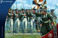 RUSSIAN NAPOLEONIC INFANTRY 1809-1814 (40 FIGURES) - PERRY MINIATURES - ACW