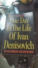One Day in the Life of Ivan Denisovich * 1963 * Stated First Edition *