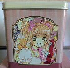Cardcaptor Sakura Animate Cafe exclusive Clamp Tomoyo Syaoran cookie tin sealed