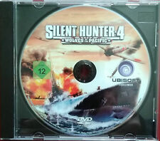 Silent Hunter 4 PC DVD Used Disc Only installed & Tested