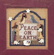 Mill Hill Christmas Peace On Earth Manger Scene Cross Stitch Buttons & Bead Kit