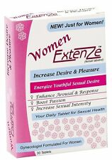 Authentic Extenze for Women Enahncement 30 tab 1 month supply New & Sealed
