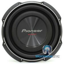 "PIONEER TS-SW2502S4 10"" 1200W 4-OHM CAR AUDIO SUBWOOFER SLIM SHALLOW SPEAKER NEW"