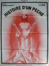 HISTOIRE D'UN PECHE Movie Poster / Affiche Cinéma Walerian Borowczyk