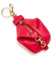 NWT $65 Rebecca Minkoff Julian Backpack Key Fob Leather Bag Charm Coin Purse!