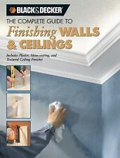 Finishing Walls and Ceilings : Includes Plaster, Skim-Coating, and-ExLibrary