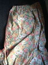 vintage tulip design laura ashley curtains 45 w X 68 1/2 l
