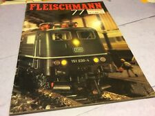 Toy train catalogue fleischmann 77 modellbahnen HO Beattles of London shop
