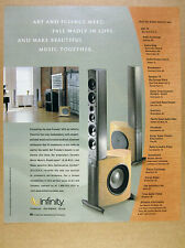 2000 Infinity Prelude MTS Speakers photo print Ad