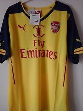 Arsenal Alexis 17 FA cup final 2014 football Shirt   BNWT