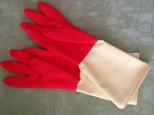 UAS Seller Carnation Household Natural Rubber Kitchen Cleaning Gloves XL