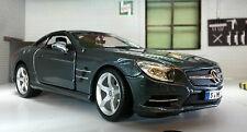 G LGB 1:24 Scale Mercedes SL500 2012 Detailed Burago Diecast Model Car 21067