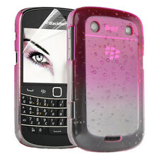 Accessories For Blackberry Bold 9900 / 9930 Rain Drop Hard Case Phone Cover Film