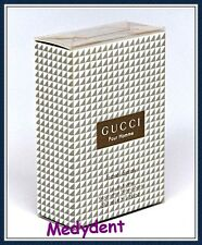GUCCI POUR HOMME BY GUCCI TRAVEL SPRAY EAU DE TOILETTE 1.0 OZ /30 ML FOR MEN NIB
