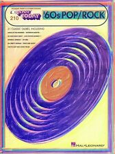 Sixties Pop Rock Hits Sheet Music E-Z Play Today Book NEW 000100059
