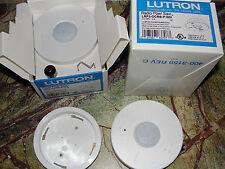 ❶ New! Lutron LRF2-OCRB-P-WH Maestro Wireless Powr Savr Occupancy Sensor Grafik