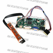 HDMI VGA DVI AUDIO LCD CONTROLLER BOARD FOR LCD PANEL B156XW02 15.6inch 1366x768