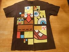 SPONGBOB SQUAREPANTS BROWN T-SHIRT SIZE: MEDIUM