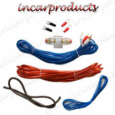 8g guage Car Audio Amplifier Amp Wiring Installation Kit 1200 watts
