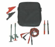 Fluke Soft Black Carrying Case with Leads 4WRD9 Test Kit