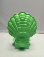 My Little Pony G1 Seapony Green Sealight Shell Conch Clam Vintage Stand