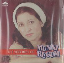 MUNNI BEGUM - THE VERY BEST OF MUNNI BEGUM - BRAND NEW CD - FREE UK POST