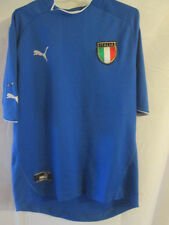 Italie football domicile 2003-2004 chemise taille M / 22346
