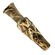 Canada Goose Hunting Call - Knight & Hale Double Cluck Plus - Camo With Lanyard