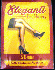 Perfects, new and unopened, Eleganti FF seamed Cuban Heel Stockings Copper Large