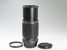 SMC PENTAX M 200mm F/4 K mount lens excellent