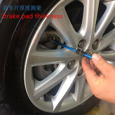Auto Car Indicator Brake pad thickness and tread depth Indicator Pen Test Tool