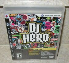 DJ HERO Start The Party SEALED NEW PlayStation 3 Guitar Hero Music Game Only